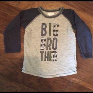 Mudpie big brother shirt